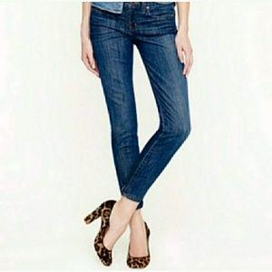 J.Crew Ankle Toothpick Jeans! Sz: 27